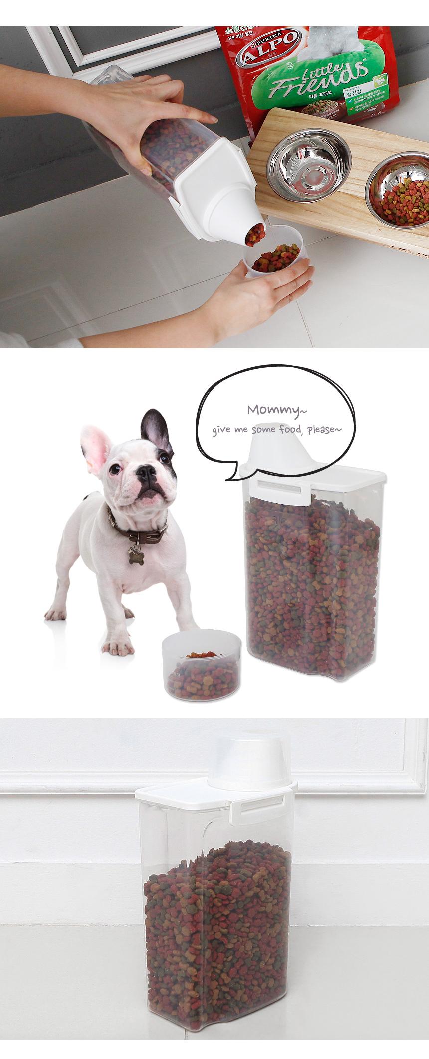 토모 강아지 고양이 사료 보관통 2kg6,900원-더홈펫샵, 강아지용품, 급수/급식기, 사료통/스쿱바보사랑토모 강아지 고양이 사료 보관통 2kg6,900원-더홈펫샵, 강아지용품, 급수/급식기, 사료통/스쿱바보사랑